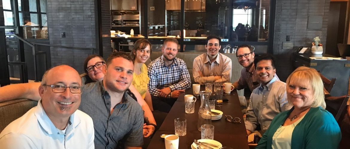 A day spent with our friends from Tableau Software - The Tableau Global Services team, Austin